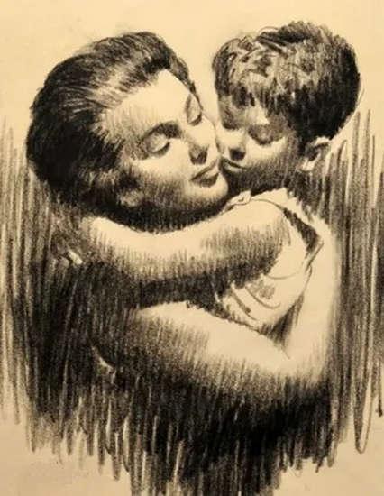Мамина опора и защита